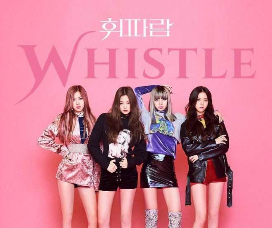 top 10 BLACKPINK WHISTLE