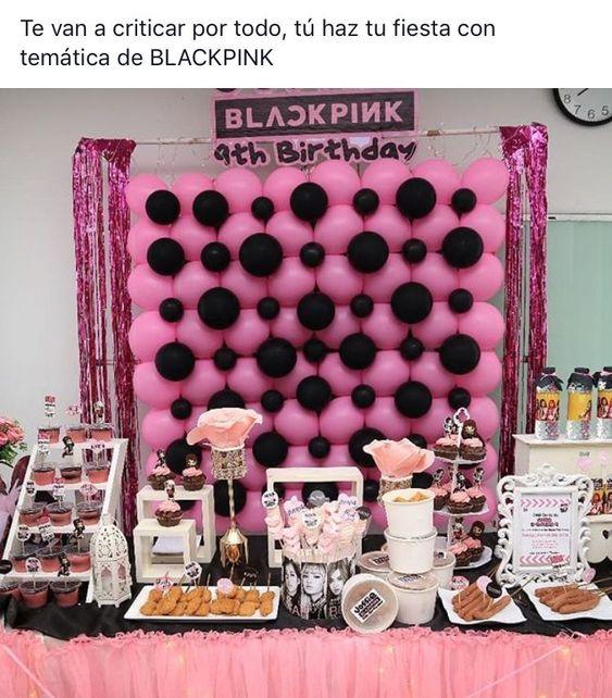 FIESTA DE BLACKPINK ENTRADA
