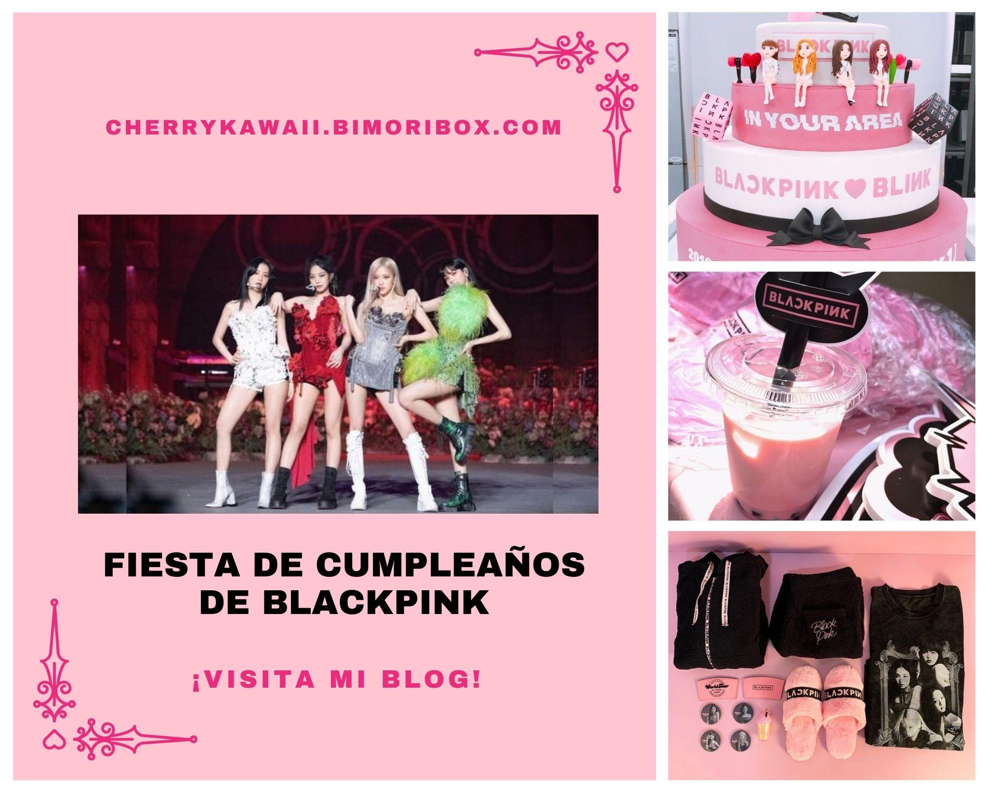 FIESTA DE BLACKPINK | TEMATICA DE CUMPLEAÑOS