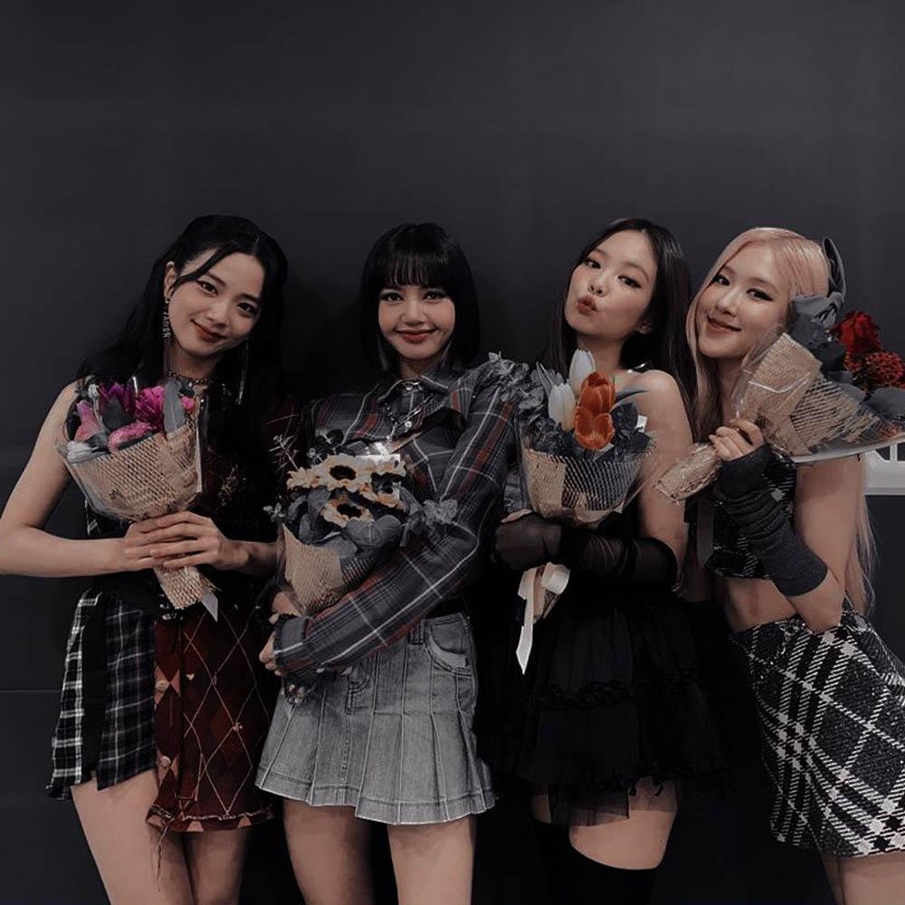 integrantes de Blackpink grupo
