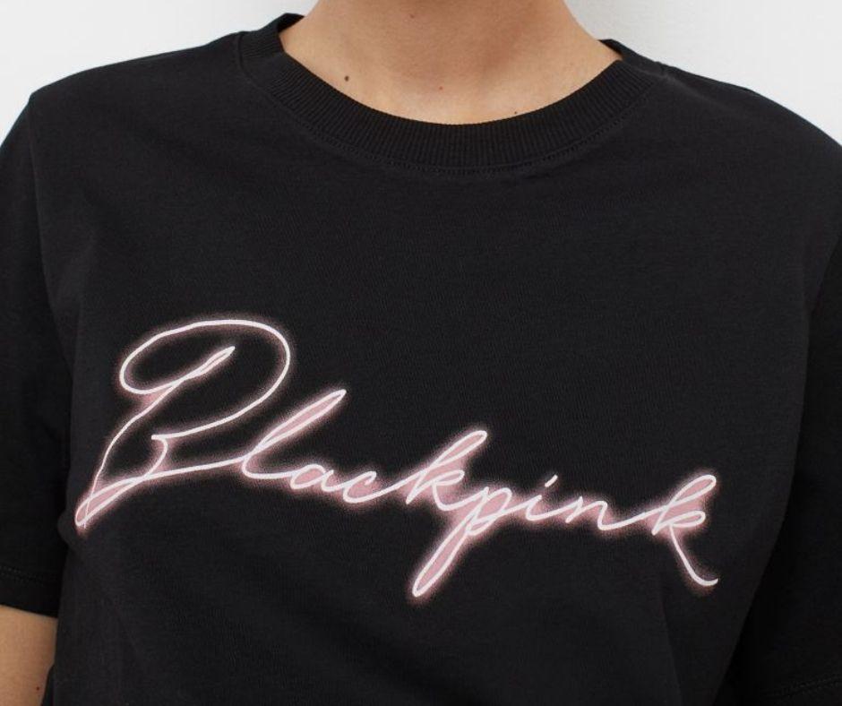 ropa de Blackpink logo
