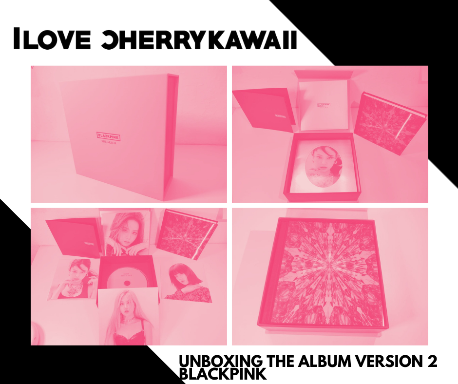 THE ALBUM BLACKPINK UNBOXING | VERSION 2 ROSA MATE