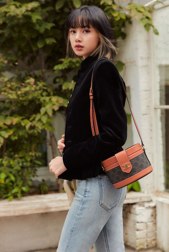 Lisa de Blackpink estilo informal