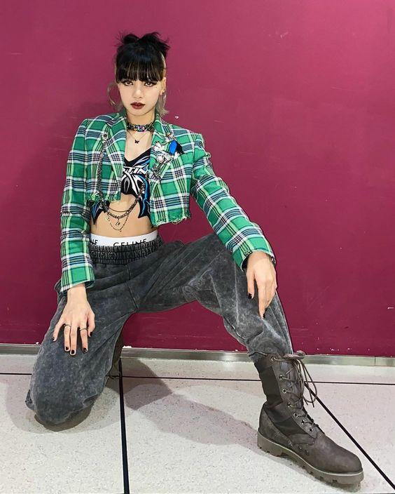 Lisa de Blackpink urbano