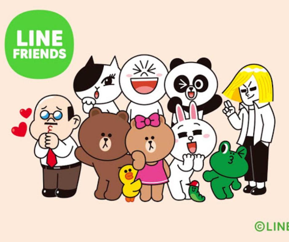 Jisoo de BLACKPINK line friends