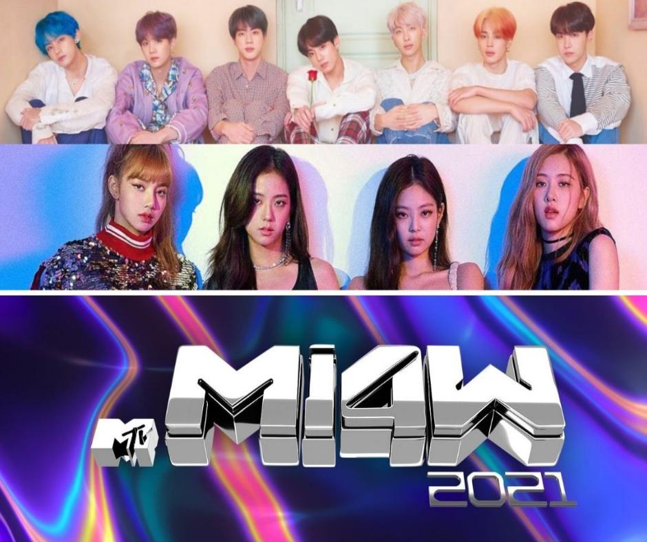 MTV MIAW BLACKPINK 2021