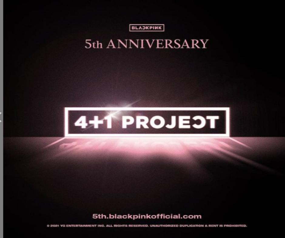 BLACKPINK 4+1PROJECT POSTER