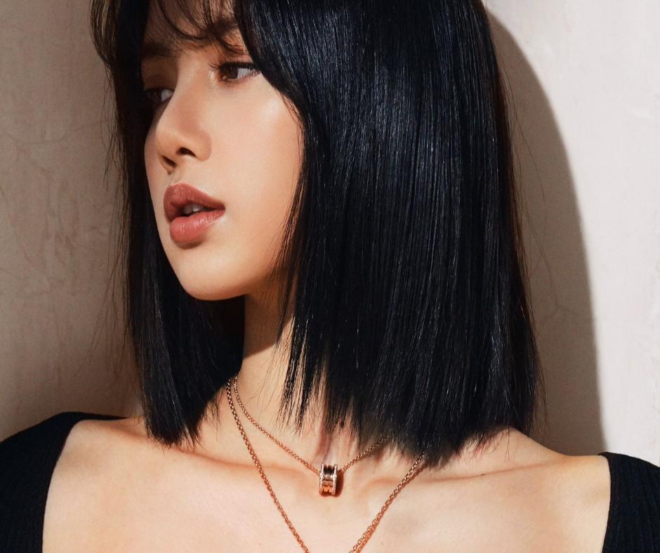 Lisa de Blackpink modelo