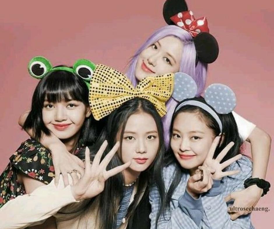 Blackpink 4+1 project girlband