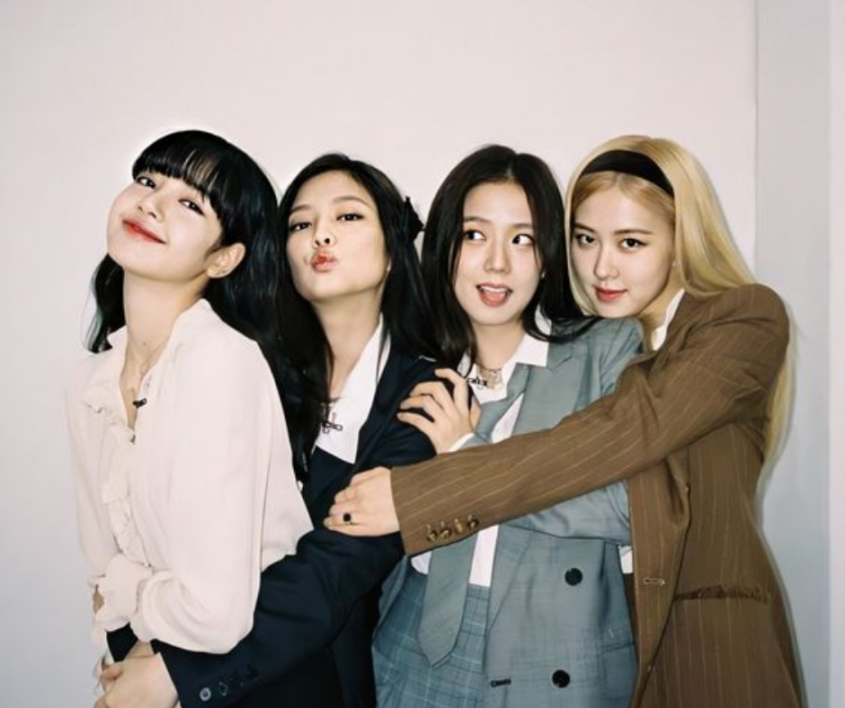Blackpink 4+1 project mujeres