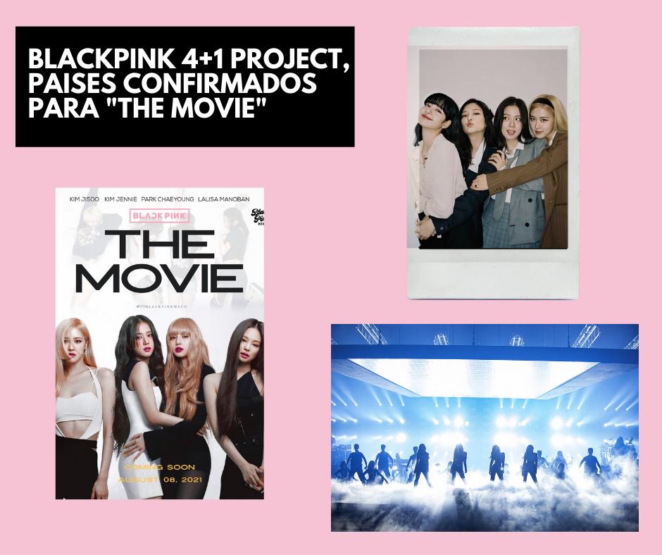 Blackpink 4+1 project portada