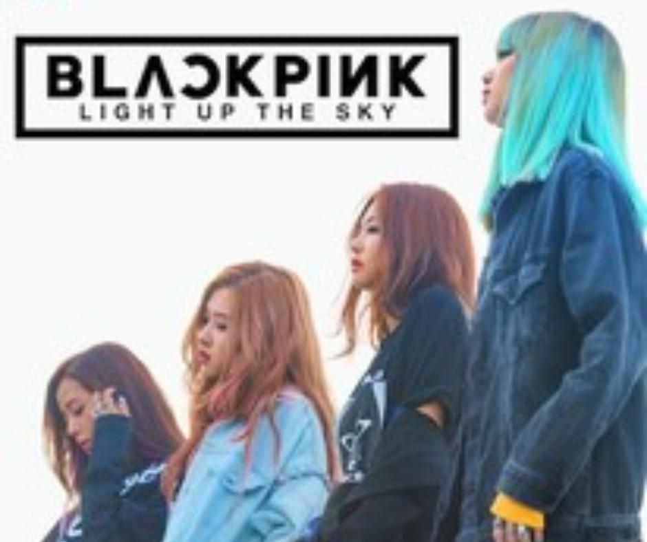 Blackpink 4+1 project poster