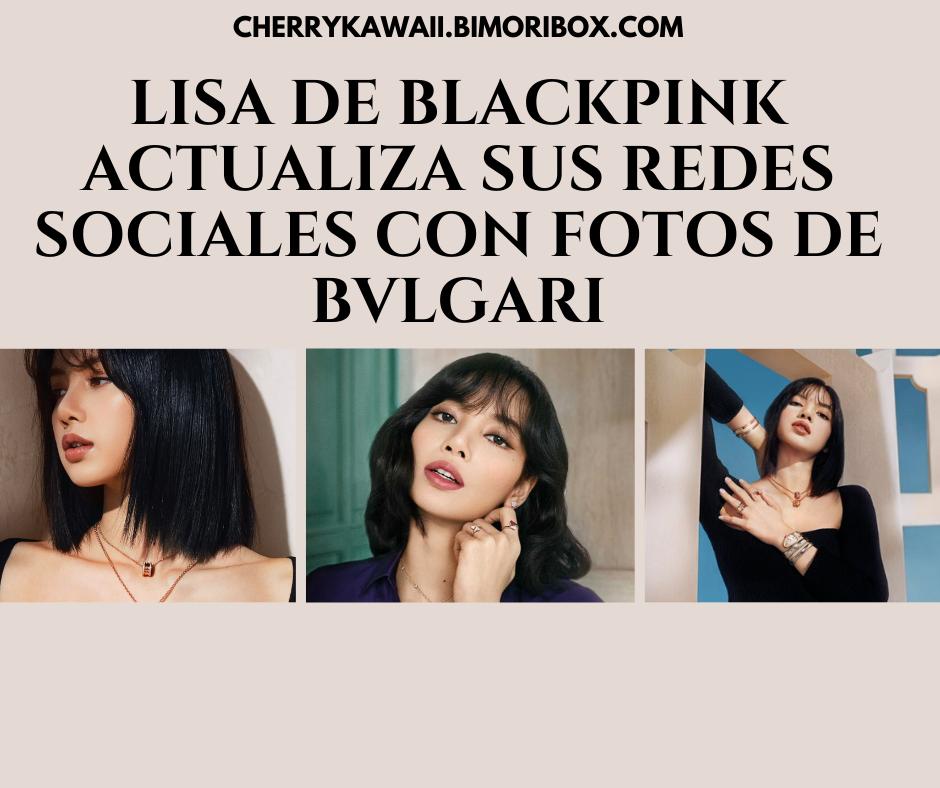 Lisa de Blackpink imagen de portada