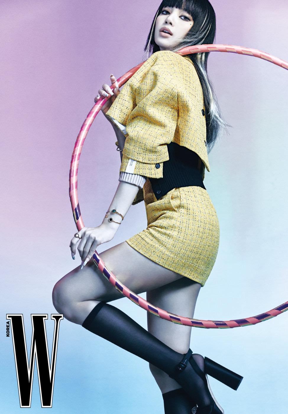 NOTICIAS BLACKPINK RECIENTES LALISA REVISTA W KOREA