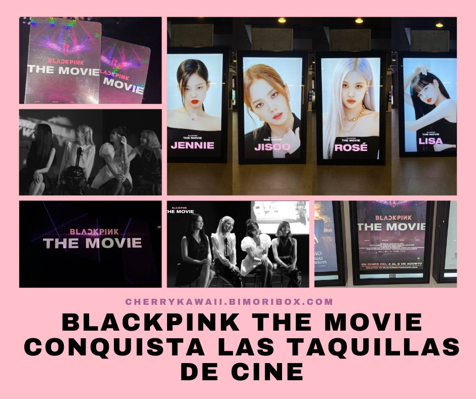 Blackpink The Movie portada