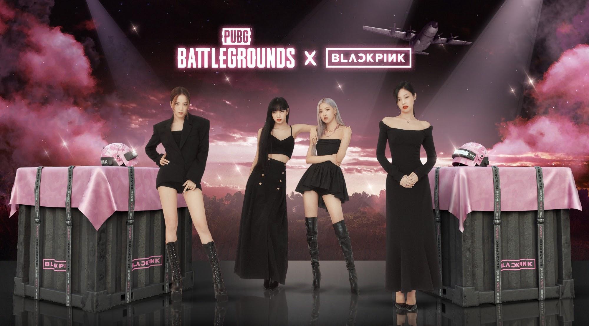 PUBG Battlegrounds Blackpink