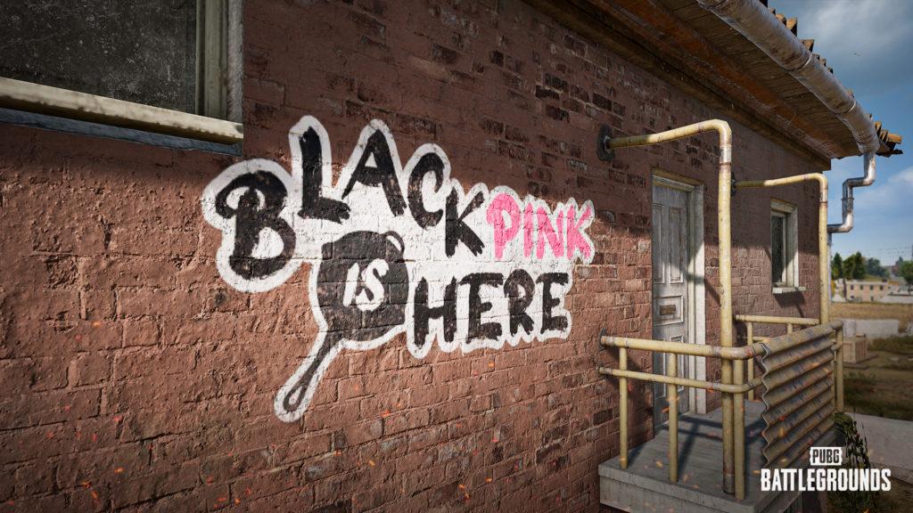 PUBG Battlegrounds grafiti