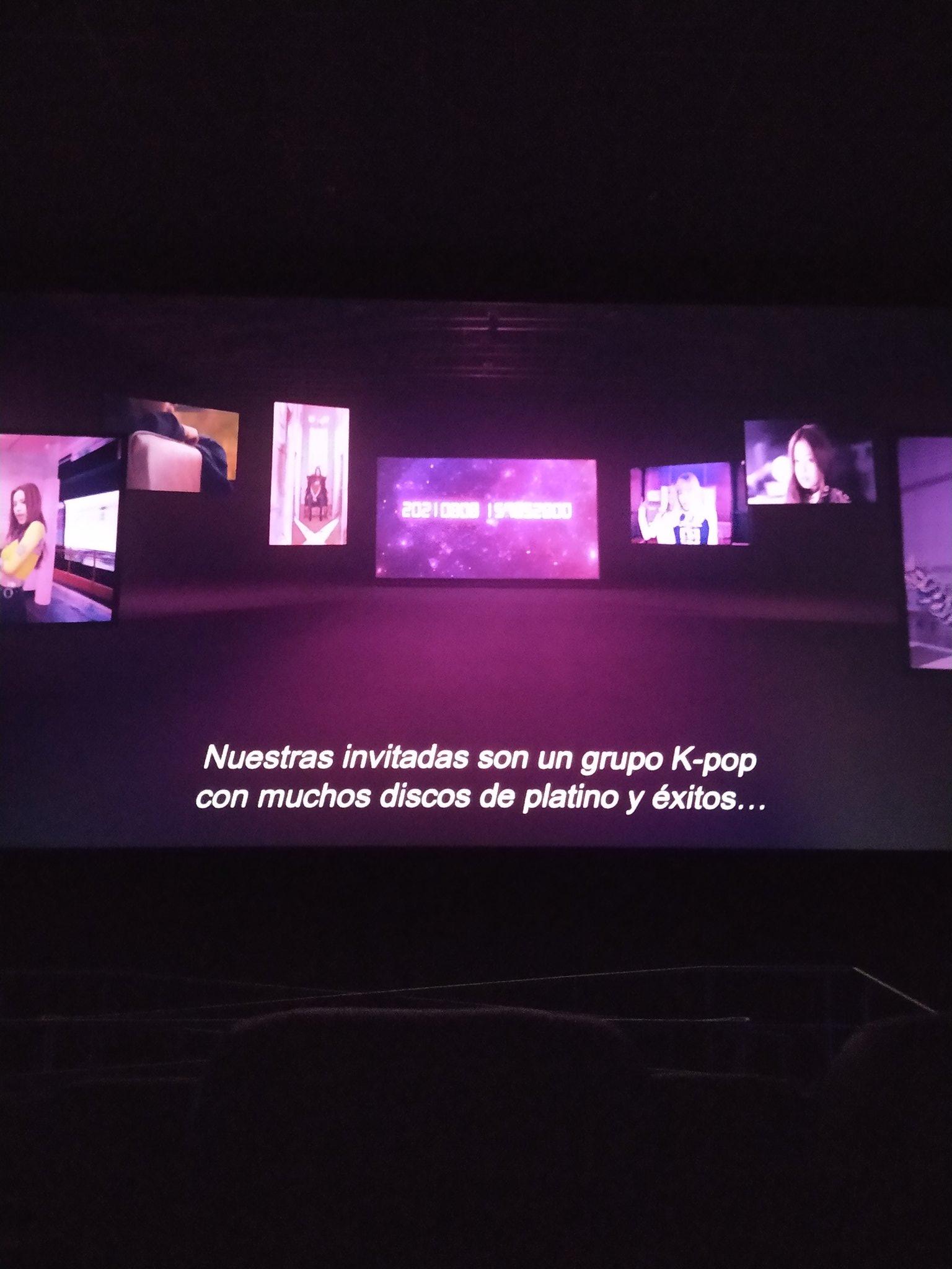 Blackpink The Movie cine