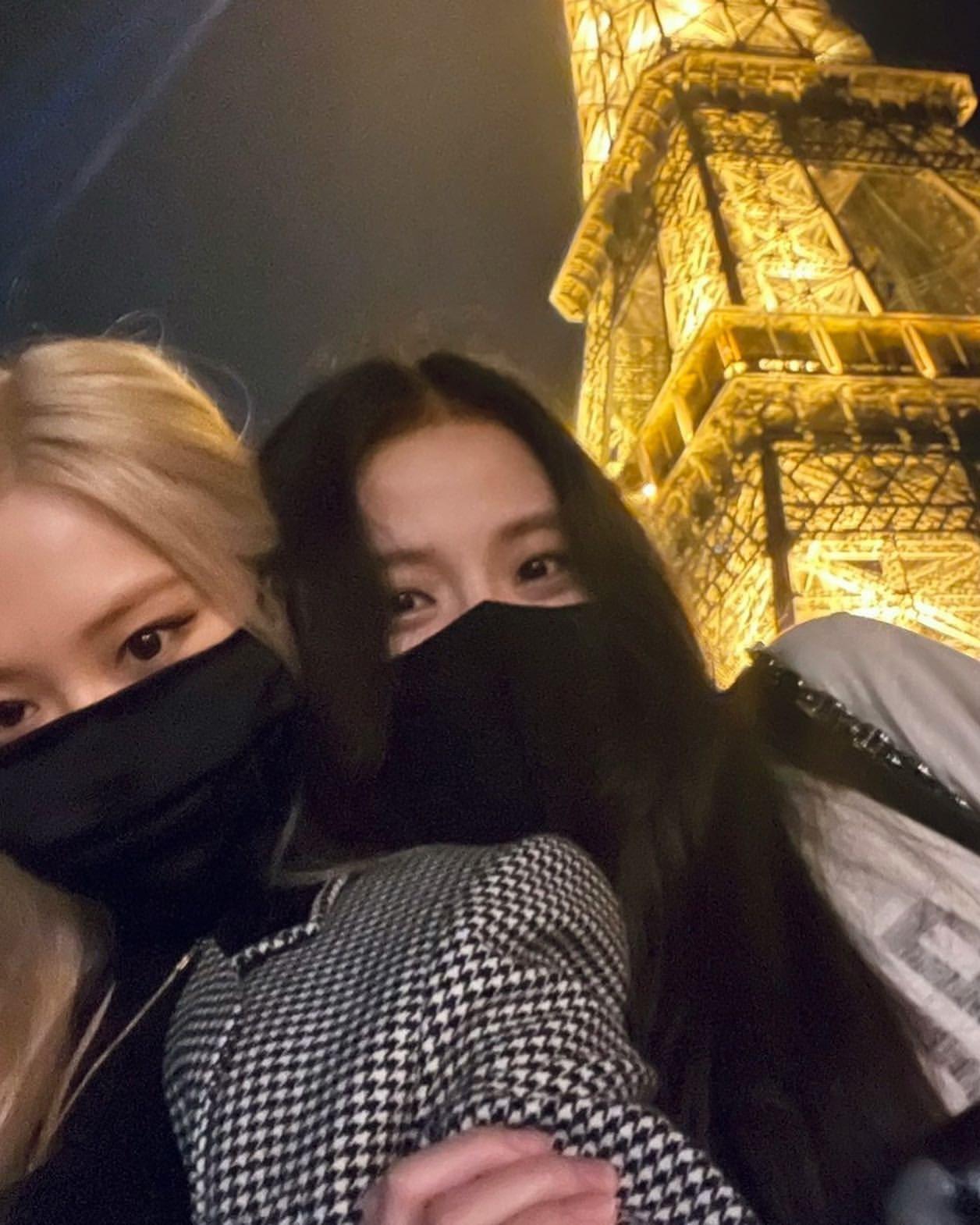 París Fashion Week blackpink amigas